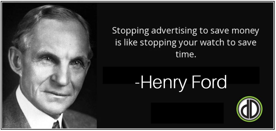 Image result for henry ford quote advertising